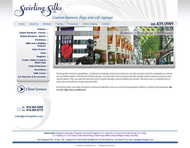 Banners and Soft Signagehttp://www.swirlingsilks.com