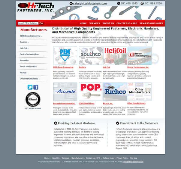 Fastener Distributor, Hi-Tech Fasteners