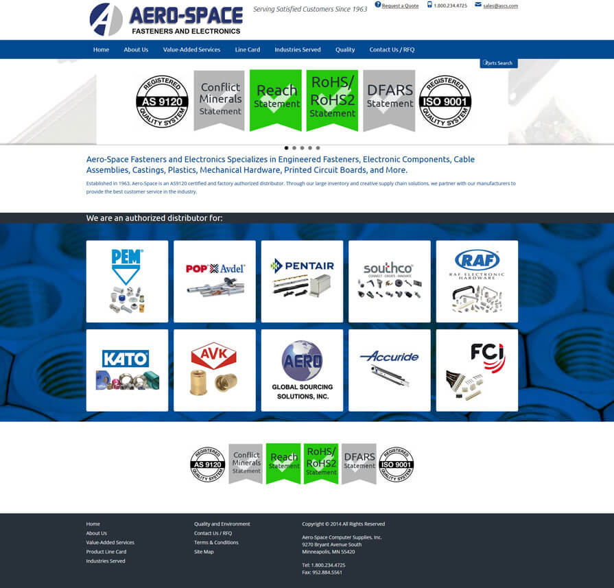 aero-space computer supplies