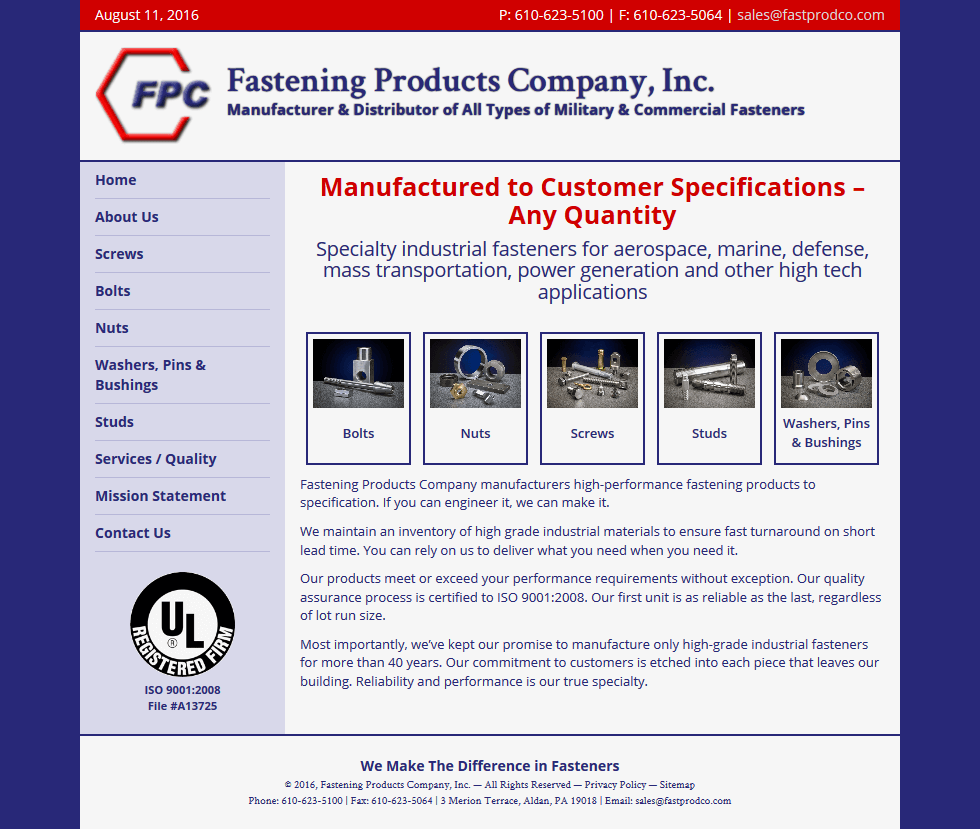 Fastening Products Company