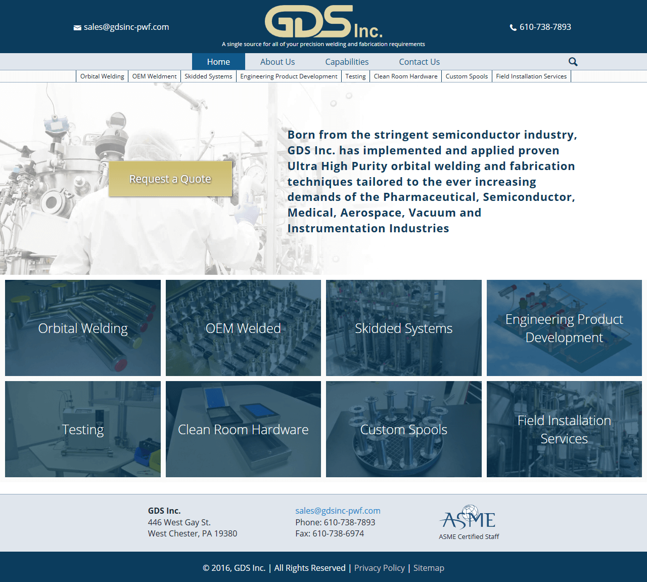 GDS Inc. Website