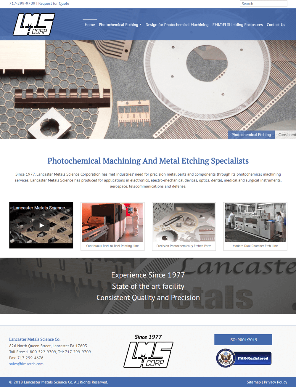 Lancaster Metals Science Corporation