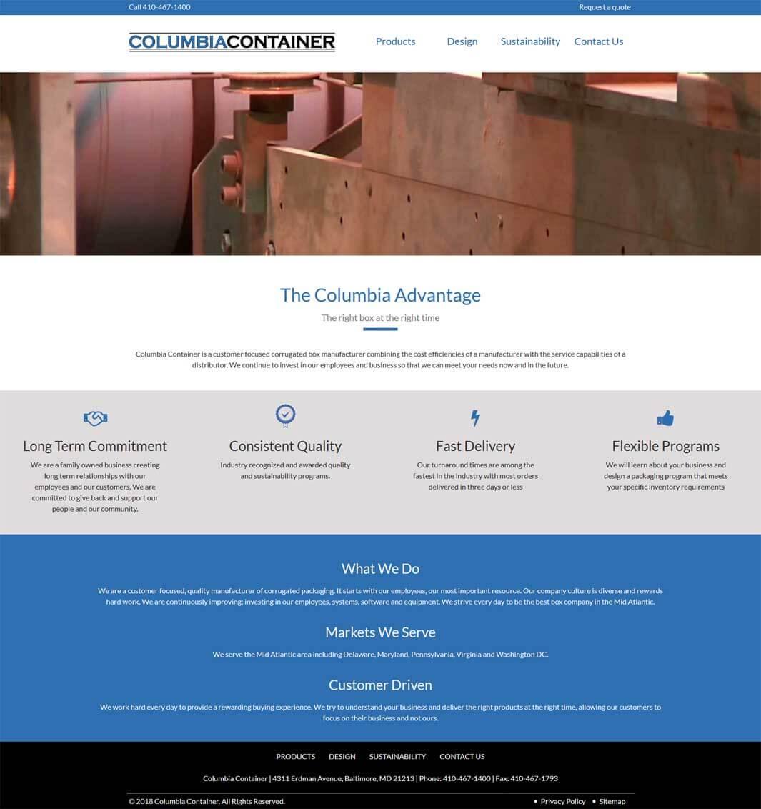 Columbia Container
