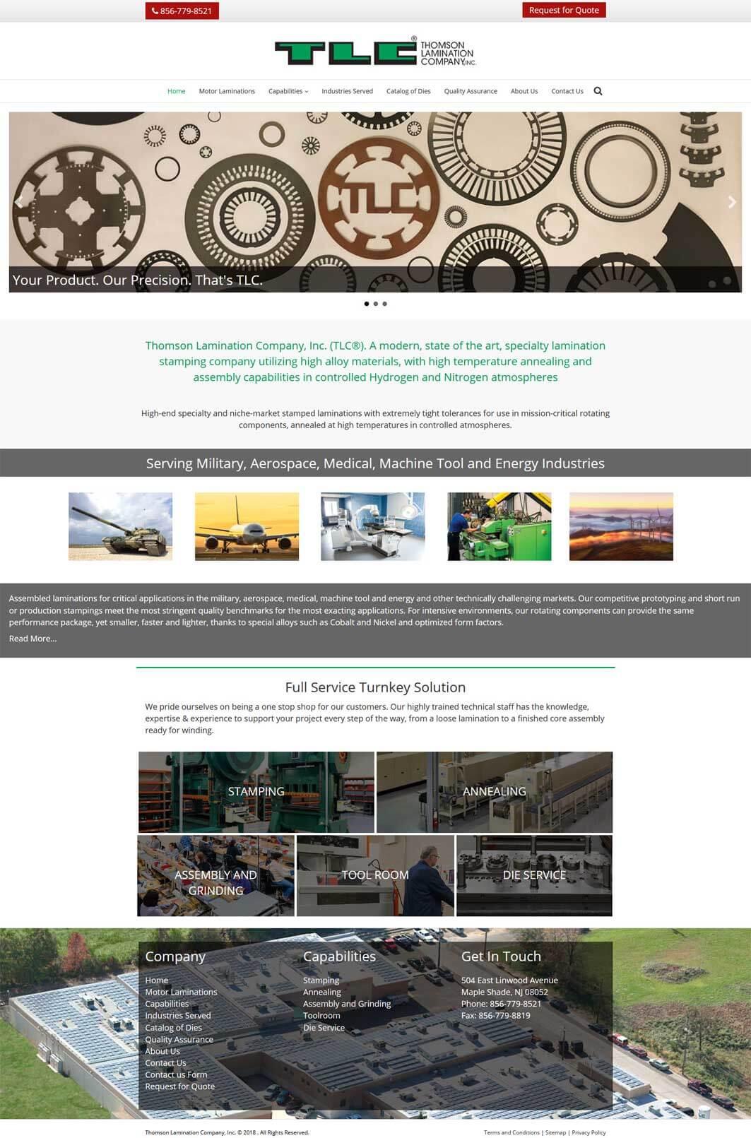 Thomson Lamination Company