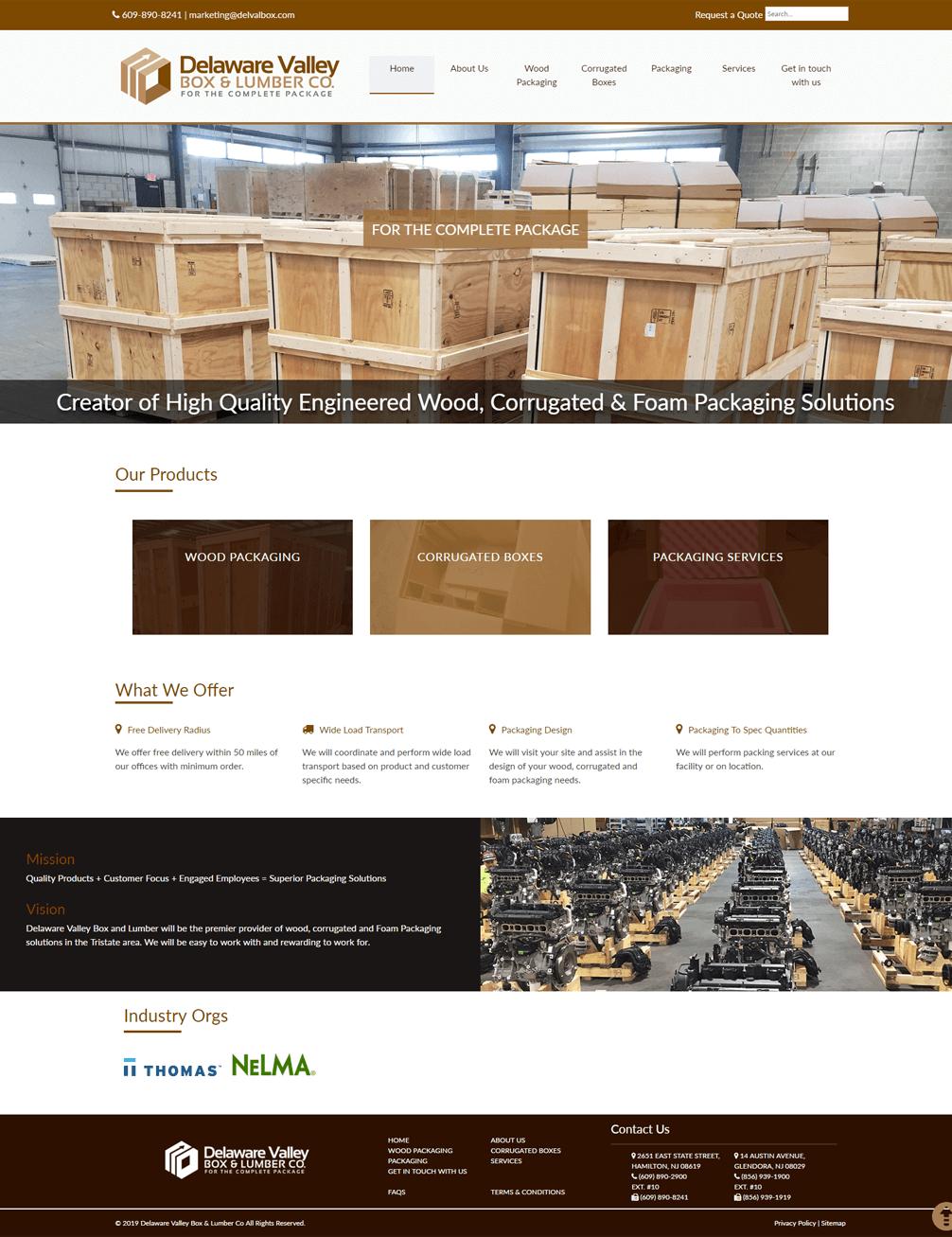 Delaware-Valley-Box-Lumber-Co